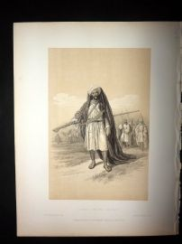 David Roberts Holy Land 1887 Print. Arabs of the Desert